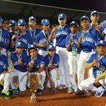 Nicaragua recibió la medalla de bronce al conseguir el tercer lugar en el Mundial Sub-12 de béisbol. Felicidades! http://t.co/ZUhHstAwqH