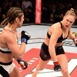 ICYMI: Ronda Rousey def. Bethe Correia by KO in 34 seconds. Rousey finished her last 3 fights in 64 seconds COMBINED. http://t.co/vtteqT9do1