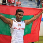 Congratulations #Maldives to achieve its first gold medal from 100m. Well done Saaidh. #IOIG2015 http://t.co/h0bdFbUj6H