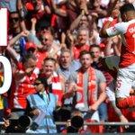 SUPERCOPA DA INGLATERRA - SEGUNDO TEMPO: Arsenal 1x0 Chelsea https://t.co/dv84PtWfYE