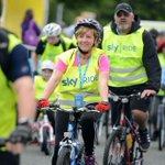 Sky Ride Manchester: Thousands of cyclists enjoy ride through city centre http://t.co/xqbRAY0ojr http://t.co/BgZN5u8Dfn