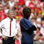 Arsene Wenger has beaten a side managed by Jose Mourinho in a competitive game for the very first time (W1, D6, L7). http://t.co/MKBY7cVj8H
