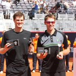 Congrats to @johnwpeers and Murray on winning the doubles title in Hamburg beating Cabal/Farah 2-6 6-3 10-8 #SicEm http://t.co/TLL0Nckeif