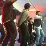 RT @RinkuGupta2012: Getting everyone to shake a leg at #PuliAudioLaunch  @ThisIsDSP . @SonyMusicSouth