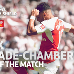 Congratulations to @Arsenals @Alex_OxChambo - man of the match in the FA #CommunityShield!!! http://t.co/GM7Blse6WM
