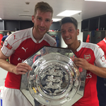 Yaaa Gunners Yaaaaaa ..... second time community shield maaan ???????????? #YaGunnersYa #AFC #London #Wembley ???? http://t.co/iqRzWuU2eL