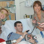 The 'Ghostbusters' cast went to a children's hospital because they are amazing & I love them. http://t.co/TDMpTPl3Q0 http://t.co/tpU8BHesau
