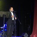 """""""Vivir"""" la nueva producción discográfica de Álvaro Mas Toledo, presentándose esta mañana en el Juan de la Cabada http://t.co/MVqOqAhV02"""