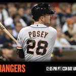 .@BusterPosey, #SFGiants look to take series from Rangers with @MikeLeake44 set to make debut: http://t.co/rkIAdfJAbQ http://t.co/9ap80mmEx4