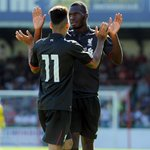 FULL-TIME: Christian Benteke nets a stunning goal on his debut as #LFC wrap up pre-season with a 2-1 win at Swindon http://t.co/RxkFEH9TqD