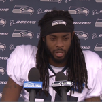 CB @rsherman_25 talked #SeahawksCamp and how the young guys have stepped up. VIDEO [http://t.co/OOyZCPuT0r] http://t.co/Bsz1owrzCk