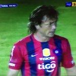 Con un gol de @DiegoLuganoorg #CerroPorteño gana 3-0 #Uruguay http://t.co/fLHlvB6IVu