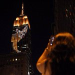 El Empire State de Nueva York, iluminado con animales en peligro de extinción http://t.co/2az3T1KI3R http://t.co/5cX794fvNG