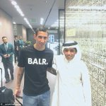 Di Maria in Doha for a medical ahead of his move to PSG. http://t.co/Zdvmig3sZn