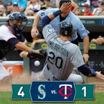 Kuma spins a gem, offense comes alive late as #Mariners beat Twins in 11. RECAP: http://t.co/rmEn1uplWE http://t.co/S8GH8WePPL