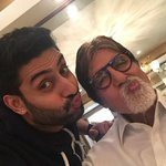T 1949 - When your son starts wearing your shoes he is no longer a son he is your friend .. my friend, Abhishek .. http://t.co/jIpstXC4wu