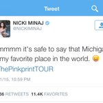 I cant disagree ... I can only agree. Mine too @NICKIMINAJ ! http://t.co/IYw8eQUHcz