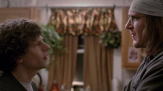 Jason Segel and Jesse Eisenberg's EndOfTheTour debuted this weekend. Review: