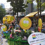 Thanks for the use of the float @HyackFestival #newwestpride #newwest #vancouver #vanpride #vancouverpride http://t.co/wKcIpPi0sq