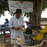 Vaccination at veterinary flood relief camp @ Kashmore. #Livestock Dept, Govt of Sindh #PPPHelpingFloodAffected http://t.co/qOG0sKHUAR