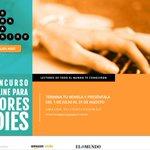 ¿Te gusta escribir? Participa en #concursoindie2015 con @AmazonESP @KindleEspana @esferalibros http://t.co/FLdpPgWAxL http://t.co/oDi6CADdLo
