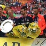 Gaston Pereiro debutó oficialmente en el PSV, jugó 5 en la victoria 3-0 ante Groningen en la final de la Supercopa http://t.co/3eC3ttbK4T