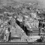 The Town Hall and municipal buildings at Victoria Square, Birmingham, 1928 © Britain From Above http://t.co/ZFTZ3N0BCf