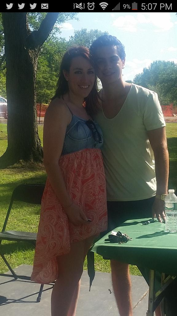 Just met @JakeTAustin no biggy. #SpiedieFest2015 #day3 #lastday http://t.co/bMLtP01RD3