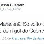 Volta Lessa Guerrero, sua família está com saudades http://t.co/bwKfxRnKQI