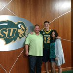 Very happy to announce my commitment to North Dakota State University #JoiningTheHerd http://t.co/8O9aE3FlZf