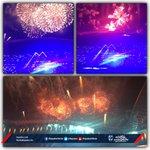 ¡Con gran espectáculo de pirotecnia concluyó la #InauguraciónRayada! http://t.co/hFk6poVCmf