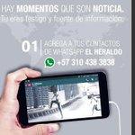 Wasapea a EL HERALDO, una forma de 'reportear' la realidad http://t.co/A1hJt4RaCo http://t.co/dxmUHuERrl