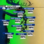 Temps come down but humidity creeps up...#Seattle is sticky today with #thundershowers lurking nearby. http://t.co/qLc36s4ooh