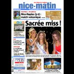 La une de Nice-Matin du lundi 3 août, édition #Nice06 littoral et vallées http://t.co/eOH2rXzToW
