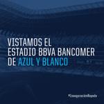 ¡Todos #DeAzulyBlanco en la nueva casa, #Rayados! http://t.co/rAafsHRKFF