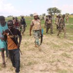 Pictures of arrested Boko Haram commander, dislodged camps & people rescued by gallant troops of the Nigerian Army.???????? http://t.co/ZmeHvdpkjQ