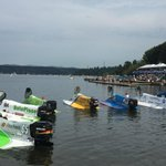 The F1 prop boats line up for their #seafair final! #leftANDrightturns http://t.co/E6mWshjVg5