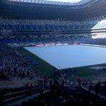 Listos desde el set de transmisión de http://t.co/1yXURvluwd y aztecanoreste.mx ⚽???????? #EstadioBBVABancomer http://t.co/upKFuCoOsz