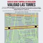 #AvisoImportante: Tomen sus precauciones y estudien rutas alternas para el cierre de #LasTorres en #Toluca. http://t.co/4glxhZ1qeK
