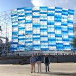 Me encuentro supervisando los avances de la modernización y ampliación del estadio de fútbol. #Puebla http://t.co/EoxbWmfBsl