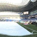 Les presento como luce el Estadio BBVA Bancomer desde la cancha a horas del partido inaugural http://t.co/K4kqo5KU13