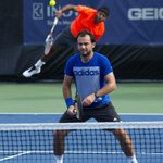 RT @tlaenpix: #FlorinMergea and #RohanBopanna practicing at the #CitiOpen for @OpenTenis