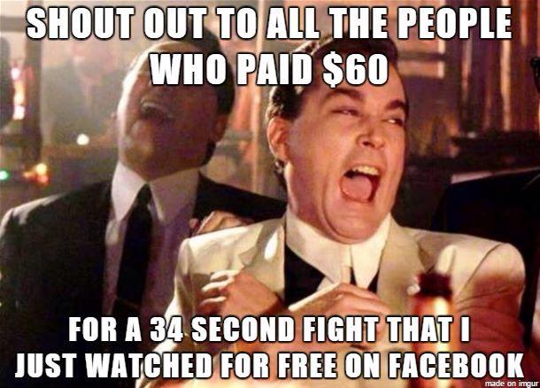 Sounds about right #UFC190 http://t.co/BqtS0MY46H