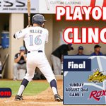 ROX WIN 6-2! With that win the Rox have clinched a spot in the NWL Playoffs for the first time in team history! http://t.co/hG11tieew8