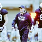"""Without a doubt the best Defensive coordinator in all of college football, Bob """"the mad scientist"""" Shoop #WeAre 🔵⚪️🏈 http://t.co/f32bLRgiuX"""