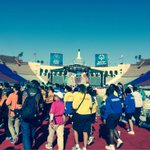 Thousands of athletes from around the world are filing in to LA Coliseum for @SpecialOlympics closing ceremony. http://t.co/5SUrobcoAh