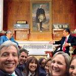 La entrevista de Raúl Vargas con Ollanta Humala ya empezó... pero los ministros aún no aprenden... cc @uterope http://t.co/ogtcB8YIBR