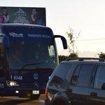 Ya van los #Rayados al nuevo #EstadioBBVABancomer... ¡Vamos @Rayados! http://t.co/3b2CsIyKTz