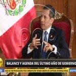 """EN VIVO Ollanta Humala: """"La fortaleza de este Gobierno es la política social"""". http://t.co/RvM8f7hHgB"""