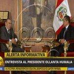 EN VIVO Ollanta Humala: Debemos entrar en la discusión de la politica real y no al chisme barato. http://t.co/rvGwjZltL8
